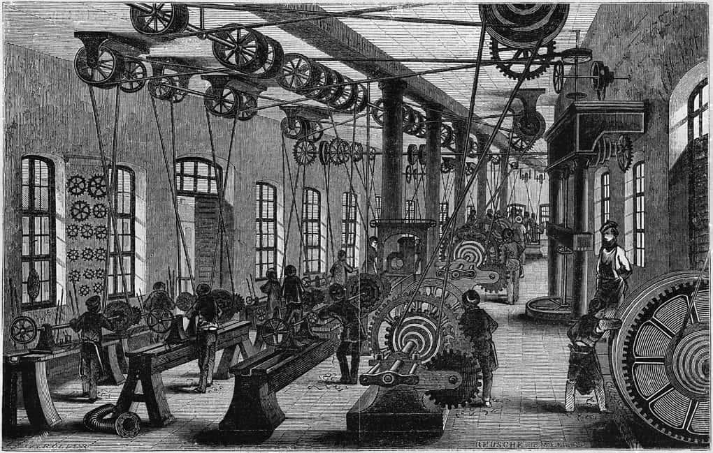 Arbeitsbedingungen während der Industrialisierung - Arbeitsblatt ...