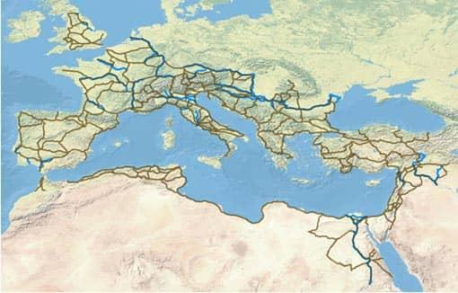 Projekt Orbis: Straßennetz im Römischen Reich