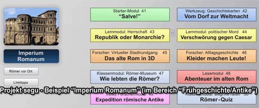segu - Beispiel Unterrichtsmaterialien zu 'Imperium Romanum'