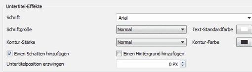 VLC-Player: Untertitel/Textgrößen verändern