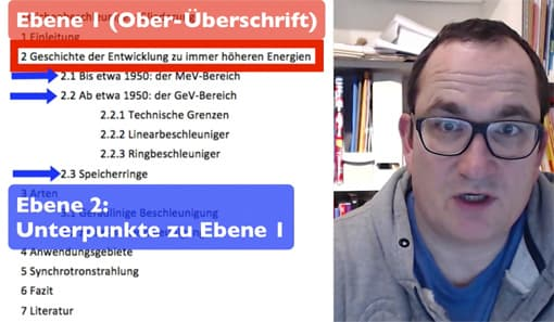 Screenshot aus Video-Tutorial »Word - Formatvorlagen«