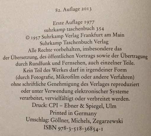 Homo Faber - Umschlagseite