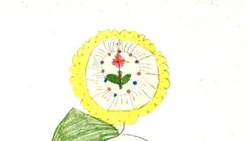 Standbild: Ergebnis nach 10 Minuten - Blume