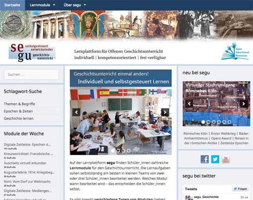 Screenshot: segu-geschichte.de