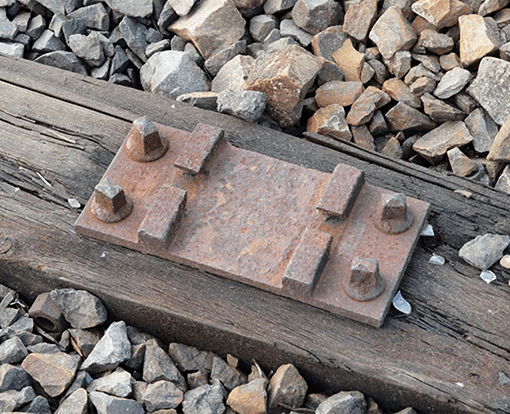 Schienenbefestigung Rippenplatte