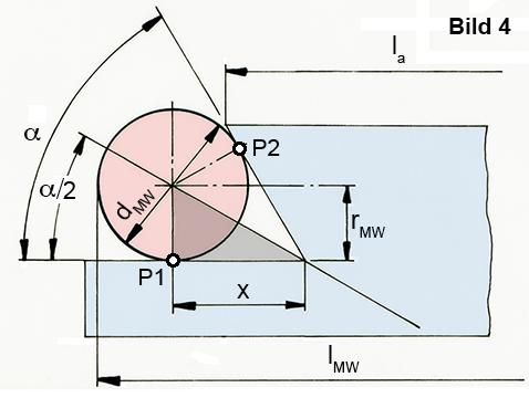 Messwalzen - Technische Zeichnung