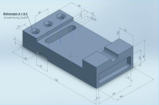 3d cad 2 4 einen prismatischen k rper modellieren tec lehrerfreund. Black Bedroom Furniture Sets. Home Design Ideas