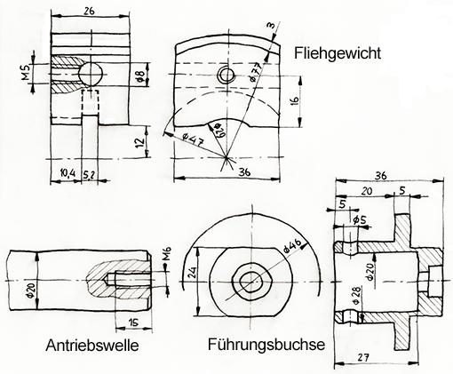 Fliehkraftkupplung Einzelteile_1