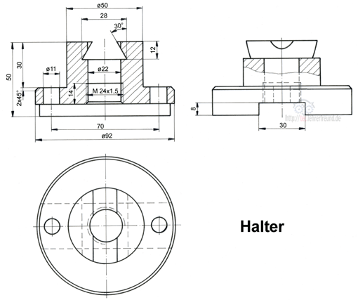 bauteil in perspektive ansichten finden tec lehrerfreund. Black Bedroom Furniture Sets. Home Design Ideas