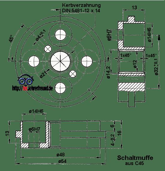 lernprojekt zweiganggetriebe 3 l sungen tec lehrerfreund. Black Bedroom Furniture Sets. Home Design Ideas