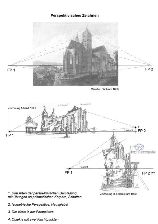 Eine Kirche in verschiedenen Perspektiven