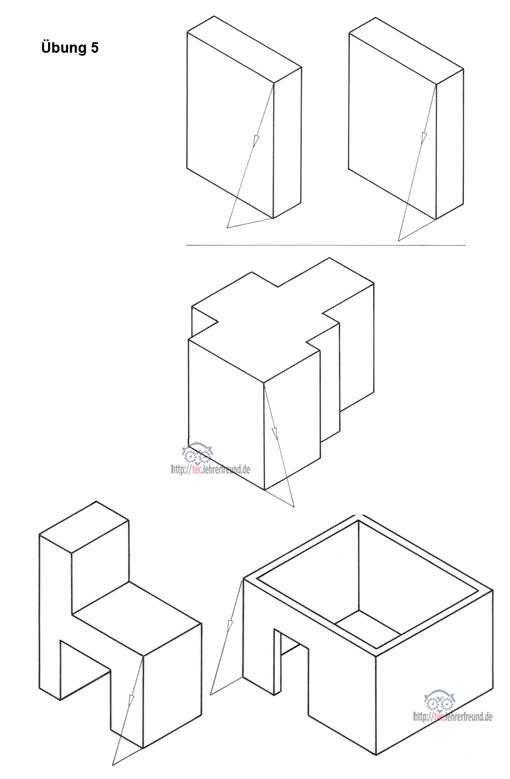 perspektive kurs 1 tec lehrerfreund. Black Bedroom Furniture Sets. Home Design Ideas
