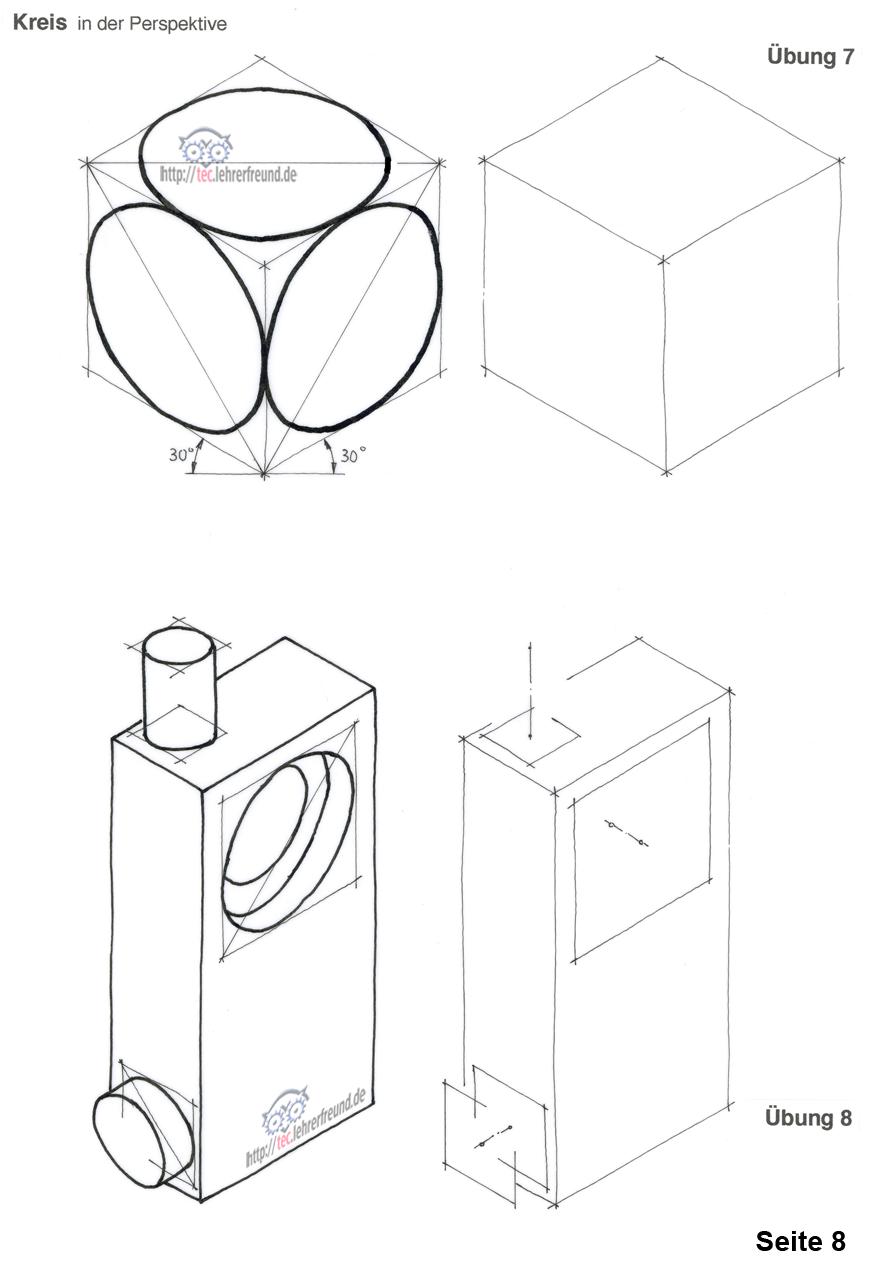 perspektive kurs 3 tec lehrerfreund. Black Bedroom Furniture Sets. Home Design Ideas