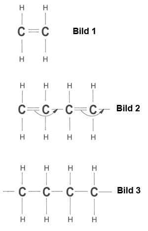 Strukturformeln von Kohlewasserstoffen