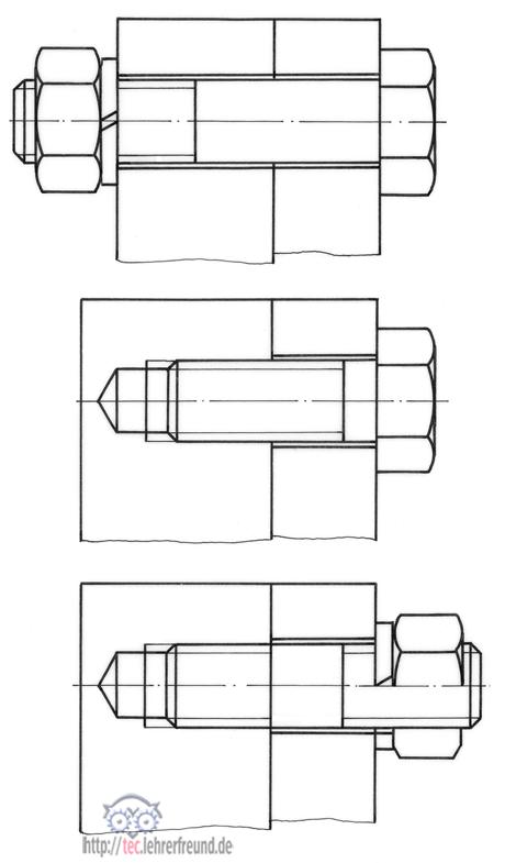 Verbindungstechnik: Schraubverbindungen (1) • tec.Lehrerfreund