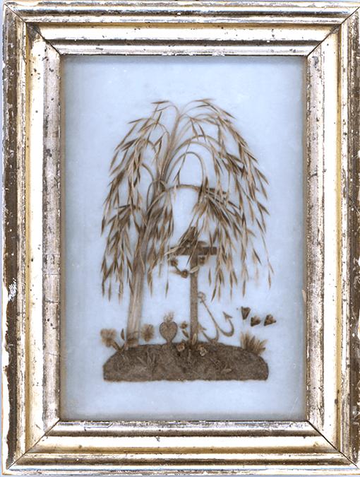 Bild Angefertigt aus den Haaren eines verunglückten Müllers