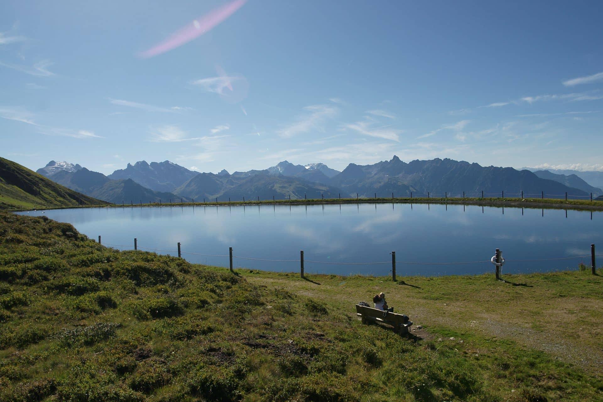 Bild Speichersee Hochjoch in 1 985 m Höhe