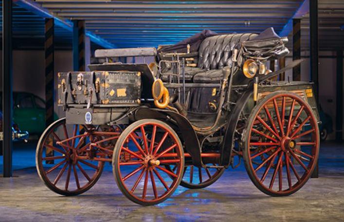 Bild Patent-Motorwagen Benz Victoria