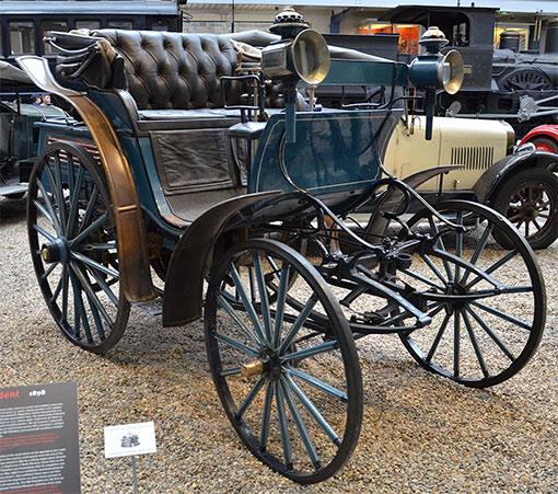 Benz Motor Pferd