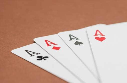 Spielkarten, Ausschnitt