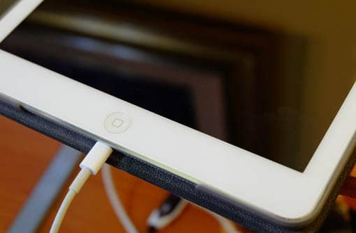 iPad (Ausschnitt)