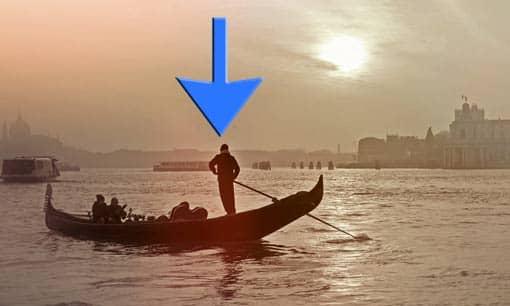 Gondel in Venedig