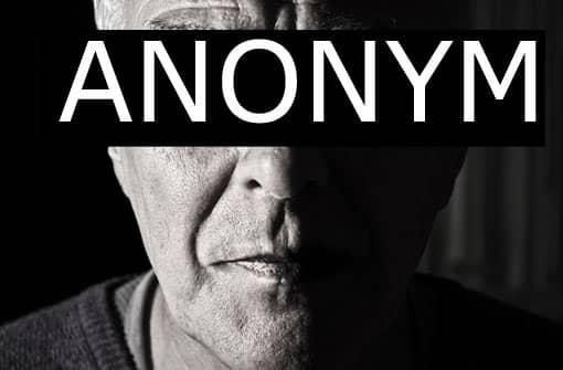 Anonymer Lehrer