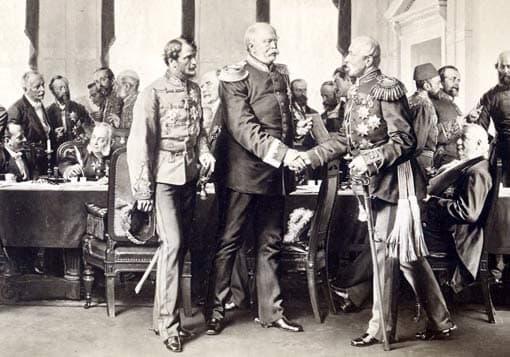Bismarck auf Berliner Kongress 1878 (Ausschnitt) - Anton von Werner, 1881