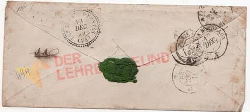 Brief mit Siegel + Lehrerfreund-Logo