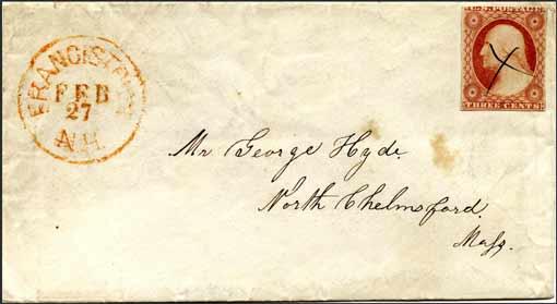 Alter Briefumschlag, Handschrift