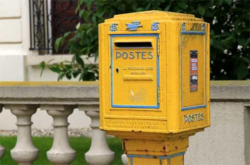 Französischer Briefkasten