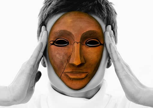 Burnout-Maske