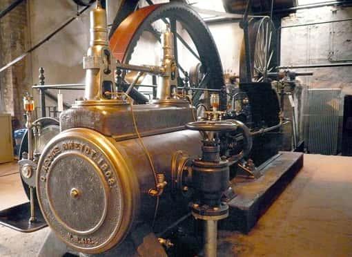 Dampfmaschine von 1903