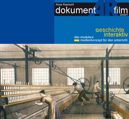 Ausschnitt: Cover der DVD Industrielle Revolution
