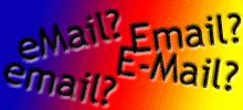 Wie schreibt man das Wort E-Mail? Verschiedene Schreibweisen