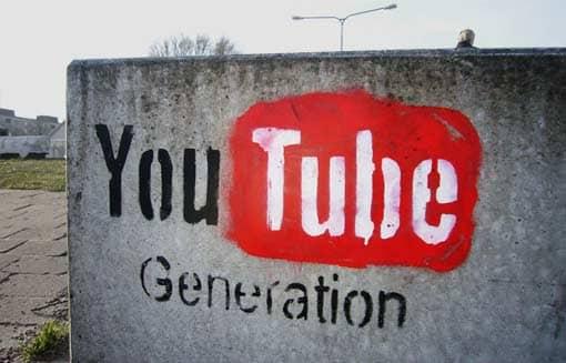 Graffiti: 'YouTube Generation'