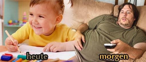 Kind, das den Spaß am Lernen verliert - heute/morgen