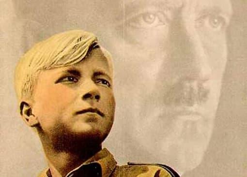 Plakat der Hitlerjugend 'Jugend dient dem Führer' (Ausschnitt)