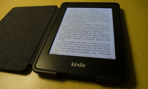 E-Book-Reader (Amazon Kindle)