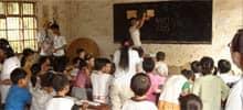 Klassenzimmer in China, Klassengröße unbekannt