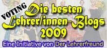Lehrerfreund-Lehrerblog 2009-Badge - Etablierte