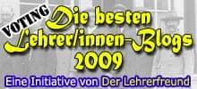 Lehrerfreund-Lehrerblog 2009-Badge - Veteranen