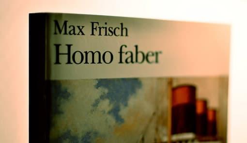 Max Frisch - Homo Faber - Cover