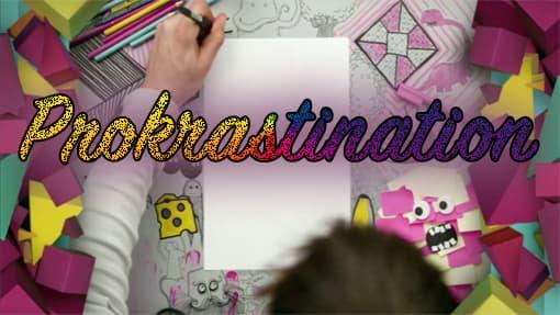 Ausschnitt aus dem Prokrastinations-Video