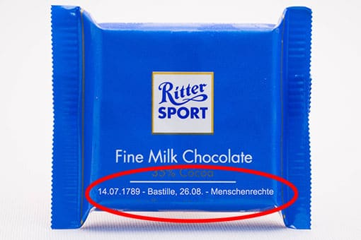 Spick-Schokolade