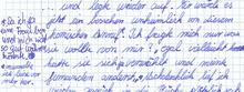 Scan einer Deutscharbeit, Auszug (Thumb)