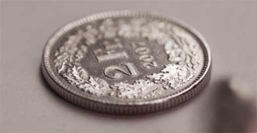 2 Schweizer Franken