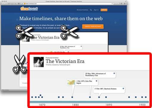 Screenshot von Webseite anfertigen, zuschneiden