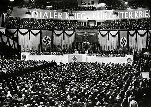 Sportpalast, Großkundgebung Juni 1943