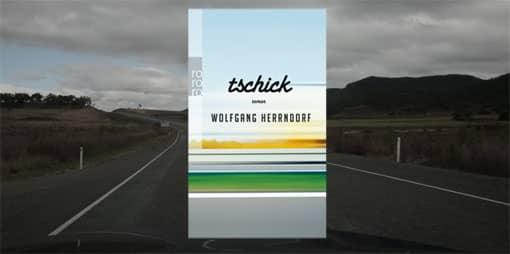 Cover von Herrndorf: Tschick auf Landschaft montiert